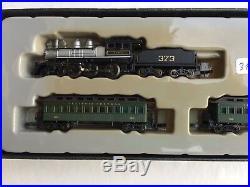 Z scale Marklin 81438 Old Time Steam locomotive passenger cars LED light DCC